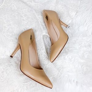 Nine West Flax Pump in Nude Size 8